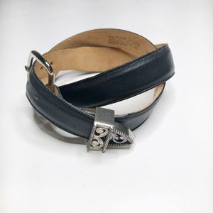 VINTAGE Justin Leather Belt